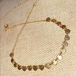 Jewelry - 💛 Sheek Heart to Heart 💛 Choker